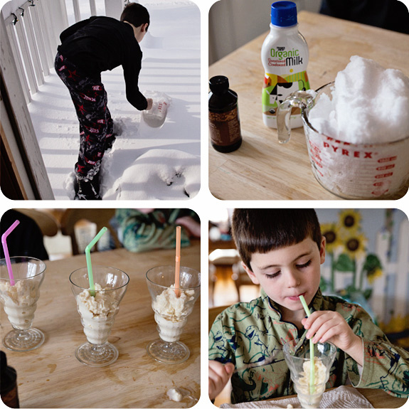 Snow Cream Blogboard